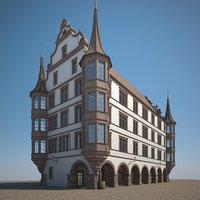 renaissance stone 3D model