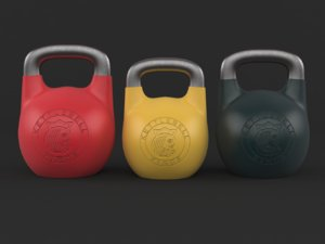 3D kettlebell set