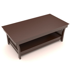 wooden teapoy table model