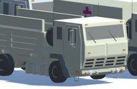 3D model military fmtv vehicles