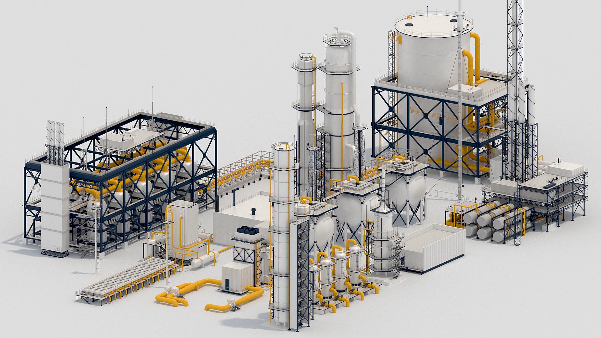 3d factory kitbash