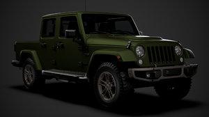 jeep gladiator 75th anniversary model