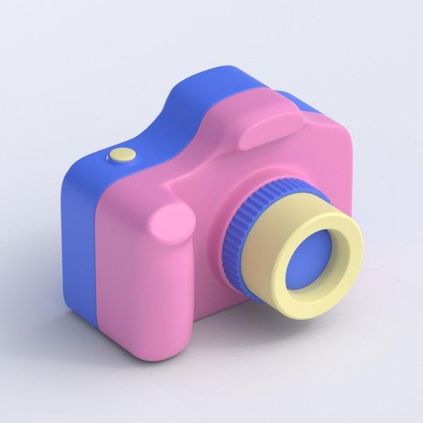 toy camera 3D model