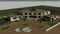 3D revit hospital