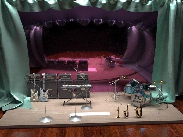 band version 3D model