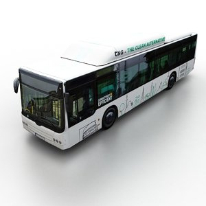 generic city bus model