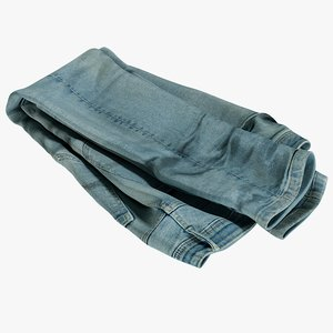 realistic jeans blue v7 model