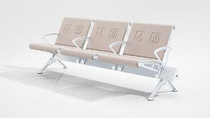 waiting bench model
