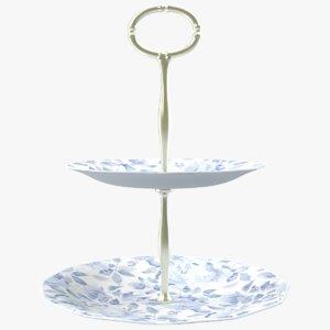 3D model sweet plates