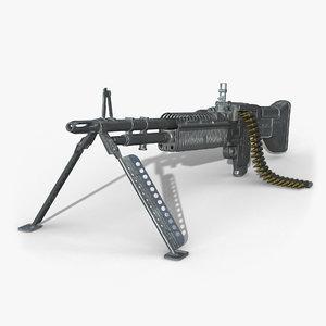 3D m60 machine gun