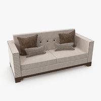 3D double sofa