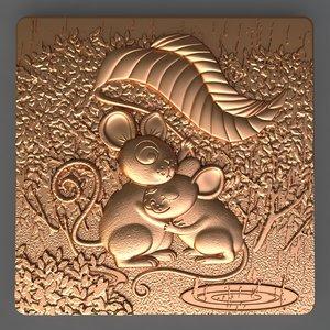 mouse soap 3D model
