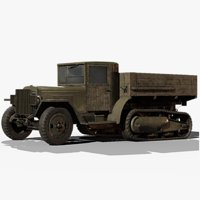 3D model soviet zis-42 gameready zis