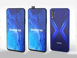 honor huawei 9x 3D model