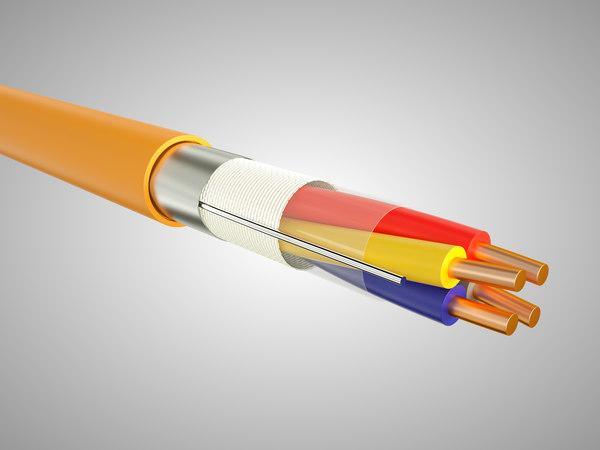 resistant cable je-h st 3D