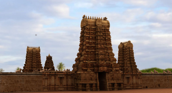 3D model indhu temple