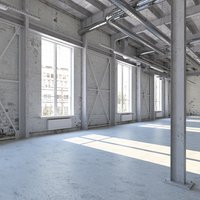 loft interior 3D