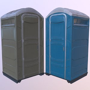 3D portable toilet
