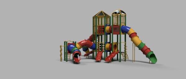 children playground 3D