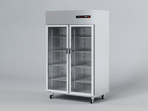 3D fagor refrigerated display cabinet