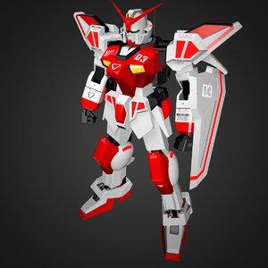 3D gundam rx
