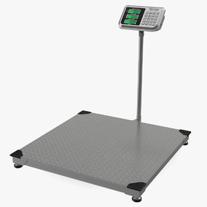 3D warehouse scale digital weight