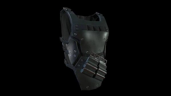 body armor 3D