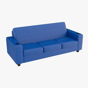 sofa sports 3D model