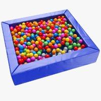 balls pit 3D model