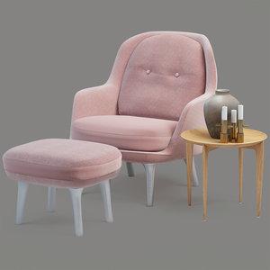 jamie hayon fri chair 3D model