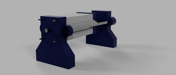3D filter machine