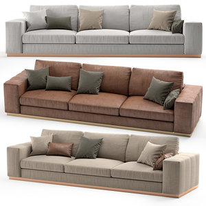 3D model laskasas charlie sofa