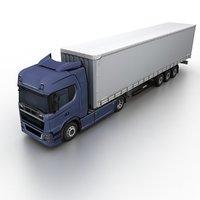 3D generic truck cargo