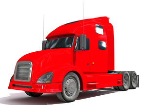 red truck 3D