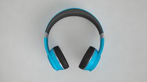 active noise cancelling headphones 3D model