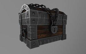3D trunk games modelled