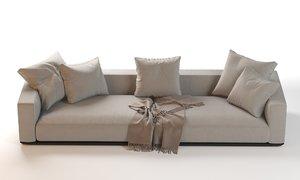 3D flexform grandemare sectional sofa