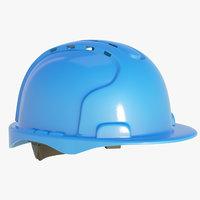 blue hard hat model