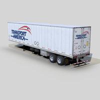 Dry van trailer 48ft s01