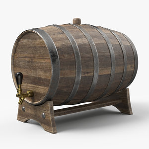 whiskey barrel model