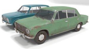 russian car 3D model