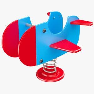spring rocker 3D model