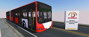 3D model dbus ecobus euro 6