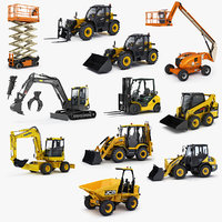 public works machines 3D model