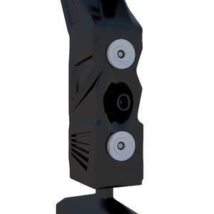 speaker loudspeaker 3D