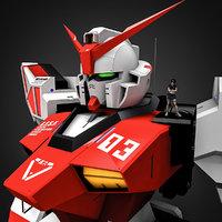 rx-03 gundam 3D