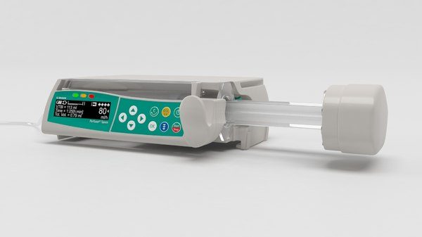 3D model braun space perfusor
