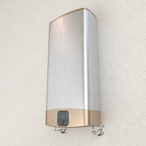 electric water heater ariston 3D model