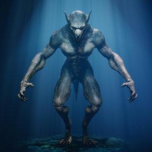 wolf werewolf vr 3D model