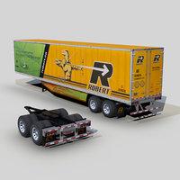 Dry van trailer 48ft s06